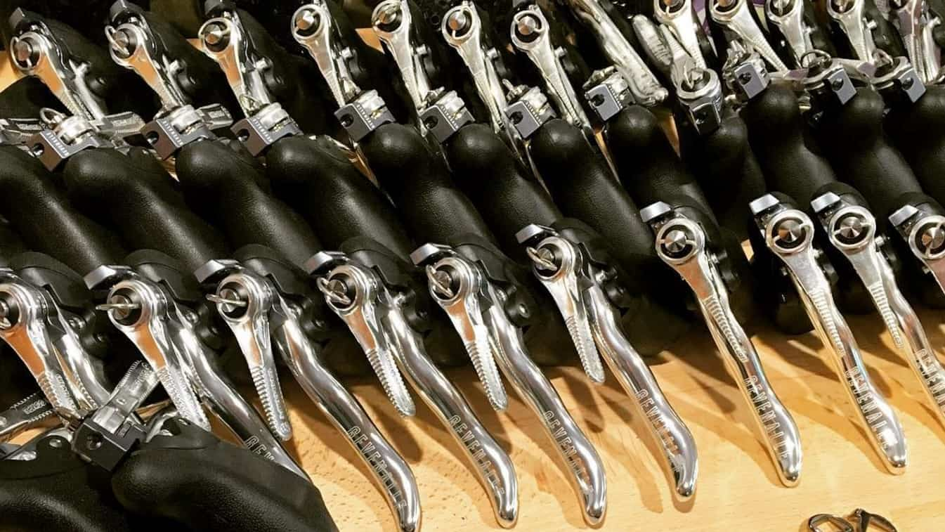 AUDAX - Shifting Systems with Friction Shifters or available without shift  levers